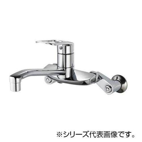 【ラッピング無料】 シングル混合栓 SANEI K2710E-3U-13:宇治style-木材・建築資材・設備