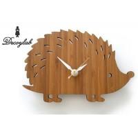 DECOYLAB ANIMAL BAMBOO クロック ハリネズミS HHS / 日本人デザイナーがアメリカからお届けする温もりのある時計。