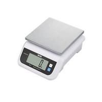 タニタ デジタルスケール(取引証明以外用) 2kg ホワイト KW-210-WH / IP67の防塵防水性能!まるごと洗えるデジタルスケール。