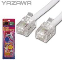 【10個セット】YAZAWA(ヤザワコーポレーション) ストレートモジュラーケーブル15m TP1150W