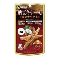 ファイン 納豆キナーゼ+ココナツオイル 90粒 30日分×6個セット