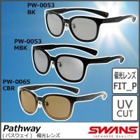 SWANS(スワンズ) サングラス DF パスウェイ 偏光レンズモデル PW-0053 BK ブラック×ブラック / どんなシーンでも使えるスタイリッシュなデザイン。