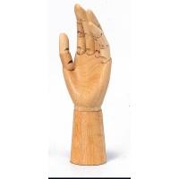 デッサン見本 【 ターレンス 手のモデル 男 左 / 8105bg 】 デッサン 手 ハンド 左手 指 お絵かき お絵描き デッサン用 人形 関節 指関節 練習 基本 ハンドモデル 手の練習 手の描きかた 指の描き方