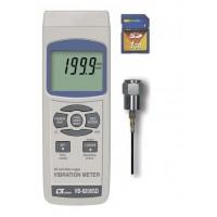 マザーツール デジタル振動計 VB-8206SD 機械設備等の振動検査に 振動速度・加速度・変位を測定 SDカードに測定データを記録 SDカード標準付属 / 機械設備等の振動測定に最適。