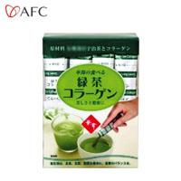 華舞の食べる緑茶コラーゲン 30本×20個セット / 豚皮由来のコラーゲンに京都の宇治抹茶をブレンド!!