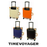 [タイムボイジャー] TIME VOYAGER TIMEVOYAGER Trolley プレミアム I TV01-BE BE (サンドベージュ) / 上質な革を各部に使用したエレガントタイプ。