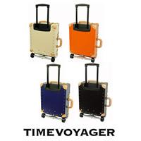 [タイムボイジャー] TIME VOYAGER TIMEVOYAGER Trolley プレミアム II TV02-BE BE (サンドベージュ) / 上質な革を各部に使用したエレガントタイプ。