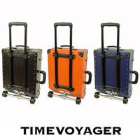 [タイムボイジャー] TIME VOYAGER TIMEVOYAGER Trolley スタンダード I TV03-BK BK (ブラック) / 今までの常識を超えたキャリーバッグ。