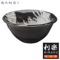 三栄水栓 【信楽焼】 手洗器 利楽 甘露(かんろ) / 信楽焼の素朴さが映える、手洗鉢。
