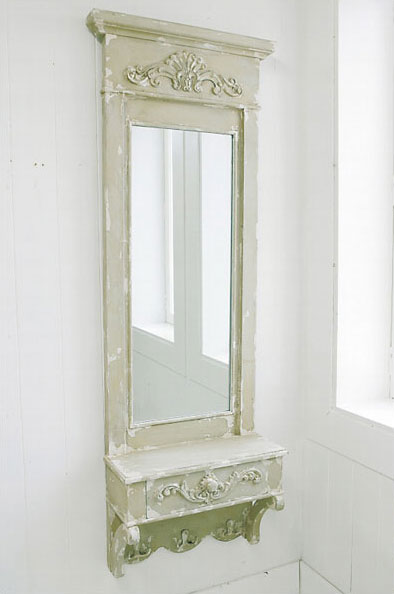 【 COVENT GARDEN / ドロワーウォールミラー / LW-30 】 ウォールミラー 壁掛けミラー 鏡 アンティーク調 エレガント インテリア おしゃれ / コベントガーデン コベント・ガーデン
