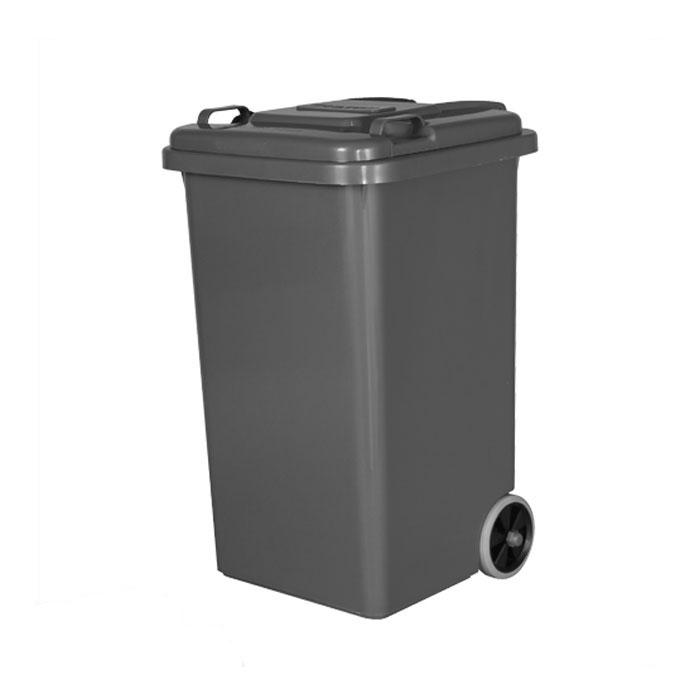 【 DULTON PLASTIC TRASH CAN 65L GRAY 100-198GY 】 ゴミ箱 ダストボックス ふた付 キャスター付 おしゃれ シンプル キッチン ダルトン プラスチック トラッシュカン 65リットル グレー