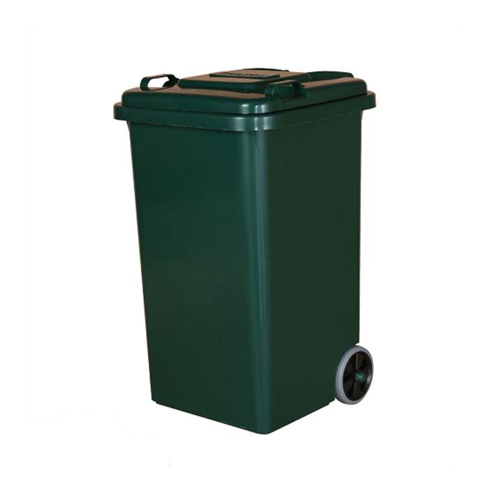 【 DULTON PLASTIC TRASH CAN 65L GREEN 100-198GN 】 ゴミ箱 ダストボックス ふた付 キャスター付 おしゃれ シンプル キッチン ダルトン プラスチック トラッシュカン 65リットル グリーン