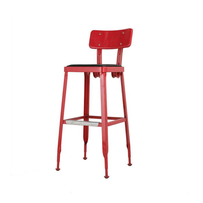 【 DULTON STANDARD BAR CHAIR RED 100-213RD 】 チェアー イス 椅子 ユニーク おしゃれ 背もたれ ダルトン スタンダード バーチェア レッド