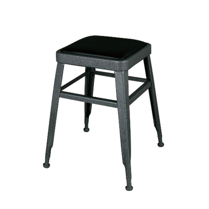 【 DULTON LIGHT-45 STOOL HAMMERTONE GRAY 113-300GY 】 スツール (背もたれなし) スチールスツール 金属 おしゃれ ユニーク 個性的 イス 椅子 ダルトン ライト スツール グレー