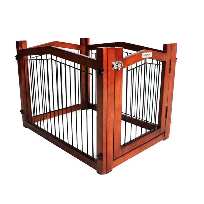 シンプリーシールド エリート 木製ペットサークル ゲート