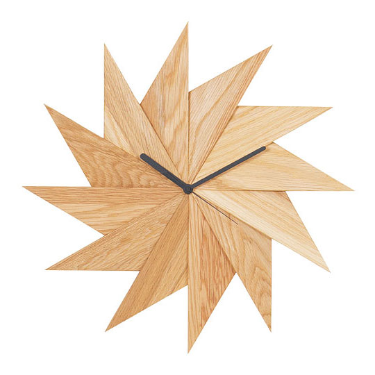 HIDAKAGU / 4383721/ウォールクロック 風 オーク / PL1TIM-0030414-OAOL / 掛け時計 木製 おしゃれ