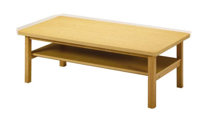 センターテーブル KVT-1260(NA) / ナチュラル / 4933178073742 弘益 / テーブル センターテーブル ローテーブル