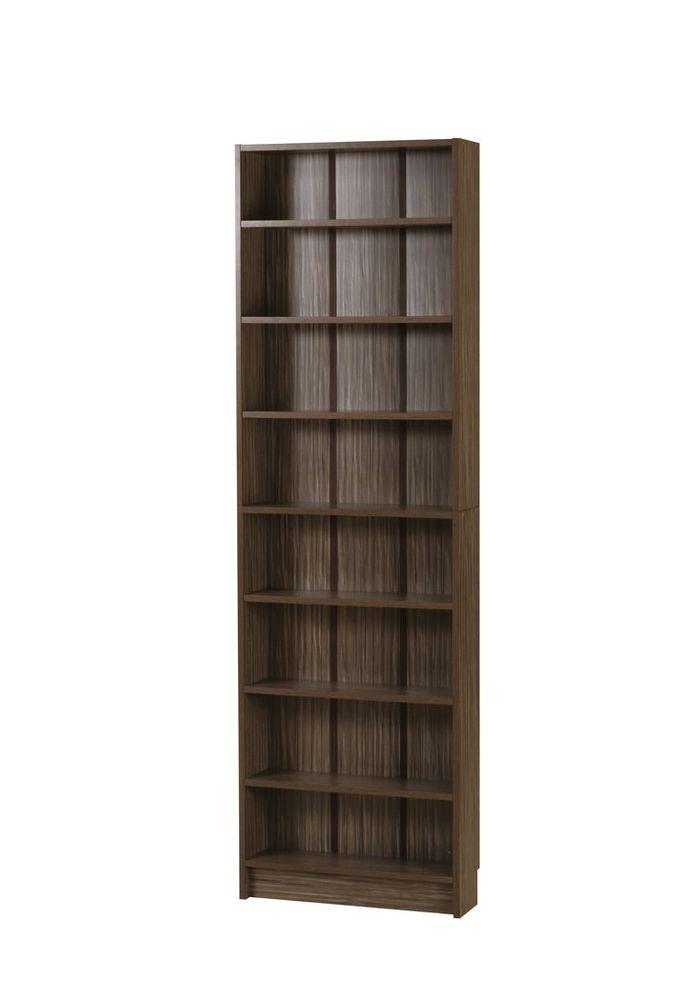 スリムラック SR-M555(BR) / ブラウン / 4933178114582 弘益 / 収納家具 本棚 ラック