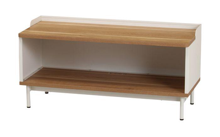 ルリク ローボード RRK-LB90(WH) / ホワイト / 4933178127292 弘益 / 収納家具 テレビ台 ローボード