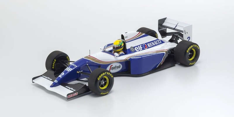 MINICHAMPS 1/18 ウィリアムズルノー FW16 セナ ブラジルGP1994 540941821 / ルノー / 車 / 1/18スケール / 京商ダイキャスト