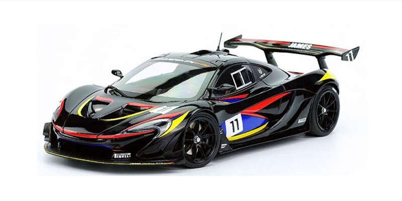 ALMOST REAL 1/18 マクラーレン P1 GTR ジェームス・ハント AL840108 / マクラーレン / 車 / 1/18スケール / 京商ダイキャスト