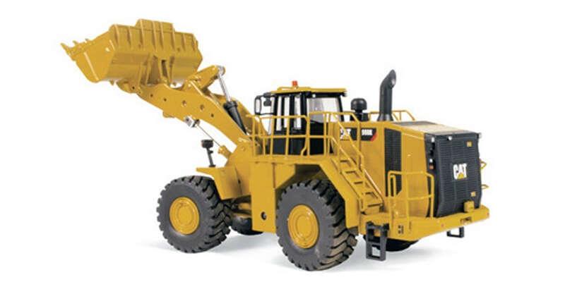 DIECAST MASTERS 1/50 Cat 988K ホイールローダー DM85901H / 重機 / 1/50スケール / 京商ダイキャスト