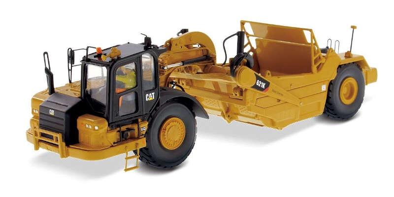 DIECAST MASTERS 1/50 Cat 621K ホイール トラクター スクレーパー DM85920H / 重機 / 1/50スケール / 京商ダイキャスト