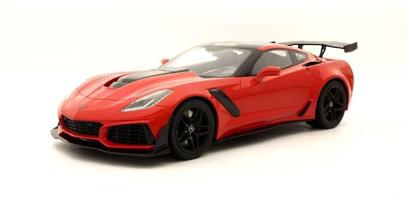 GT SPIRIT 1/12 シボレーコルベット ZR1(レッド) GTS018US / シボレー / 車 / 1/12スケール / 京商ダイキャスト