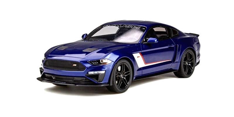 GT SPIRIT 1/18 ラウシュ ステージ3 マスタング(ブルー)US Exclusiv GTS020US / 車 / 1/18スケール / 京商ダイキャスト