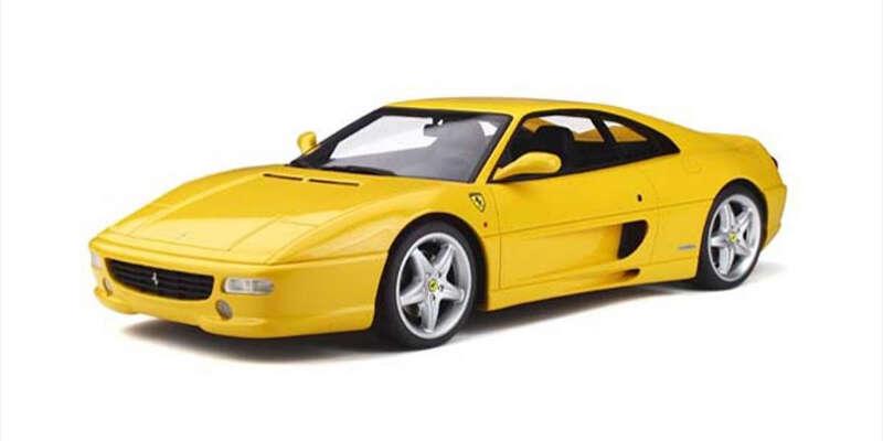 GT SPIRIT 1/12 フェラーリ F355 ベルリネッタ(イエロー) GTS032KJ / フェラーリ / 車 / 1/12スケール / 京商ダイキャスト