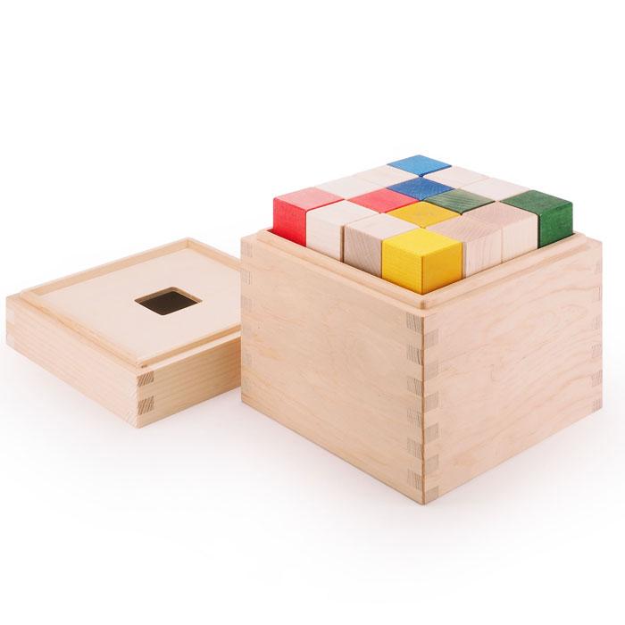 積み木:CUBICOLO BASE(クビコロ/ベース) / MGWTBL01 / マストロ・ジェッペット / 1歳~ 木製 日本製 キッズ・ベビー おもちゃ 積み木