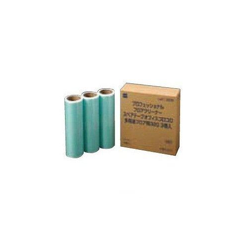 【30個販売】テラモト オフィスコロコロ 多用途用スペア3巻入 320mm C3230 / CL6647530 / 4904140572303