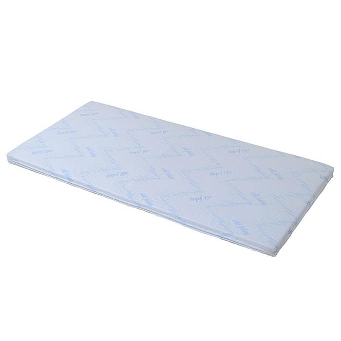【 Air fourth COLD FEELINGマットレス / ホワイト 】 マットレス / 接触冷感 低反発 高反発 さらさら ひんやり カバー洗濯可 シングル シンプル さわやか / ASI-0001-WH