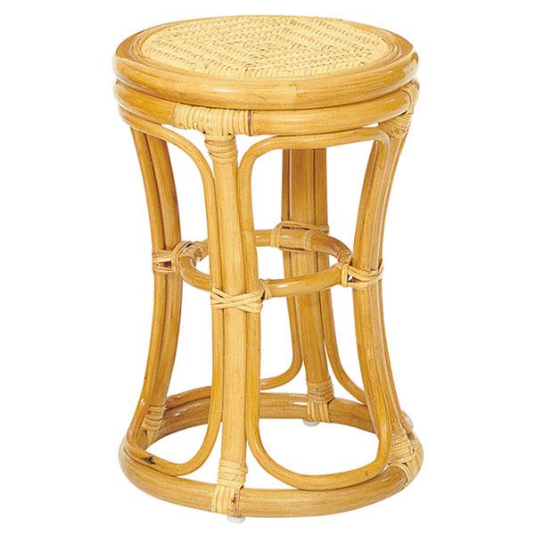 サンフラワーラタン 【 ラタンスツール / C412H 】 インテリア イス 椅子 チェアー スツール 背もたれなし