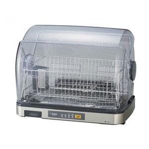 象印 食器乾燥器 EY-SB60-XH / 食器かごをセットしたまま引き出せる構造でお手入れラクラク。
