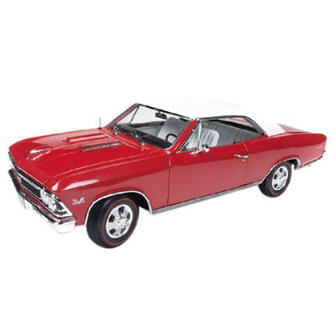 American Muscle 1/18 シボレー シェベル SS 1966 クリスマスエディション 【 ミニカー 1/18 シボレー 】 おもちゃ ホビー 趣味 コレクション