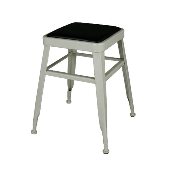 【 DULTON LIGHT-45 STOOL IVORY 113-300IV 】 スツール (背もたれなし) スチールスツール 金属 おしゃれ ユニーク 個性的 イス 椅子 ダルトン ライト スツール アイボリー
