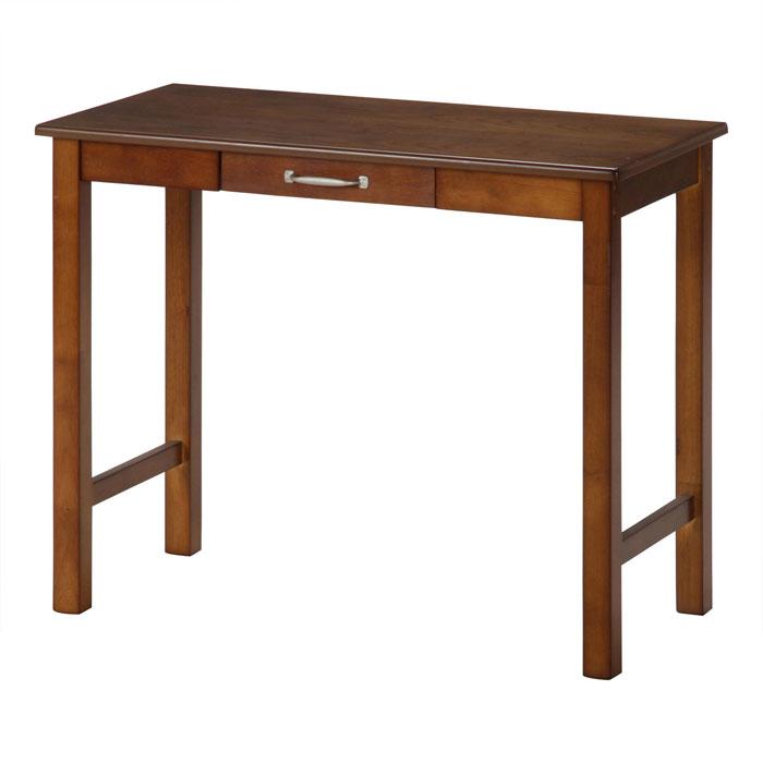 不二貿易 ワーク デスク マンチェスター 木製 ダーク ブラウン 95784
