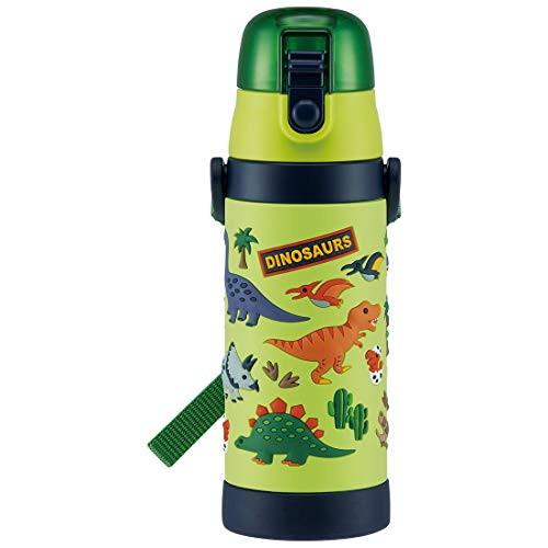特価キャンペーン 水筒 480ml ディノサウルス 3Dロック付ワンプッシュ 売り出し ダイレクトボトル 4973307486180 スケーター株式会社 SDPV5