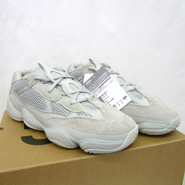 26b877f325111 Higashiosaka store with 500 adidas Adidas sneakers ORIGINALS YEEZY 500  originals easy YEEZY BOOST Kanye collaboration EE7287 SALT salt light gray  suede ...