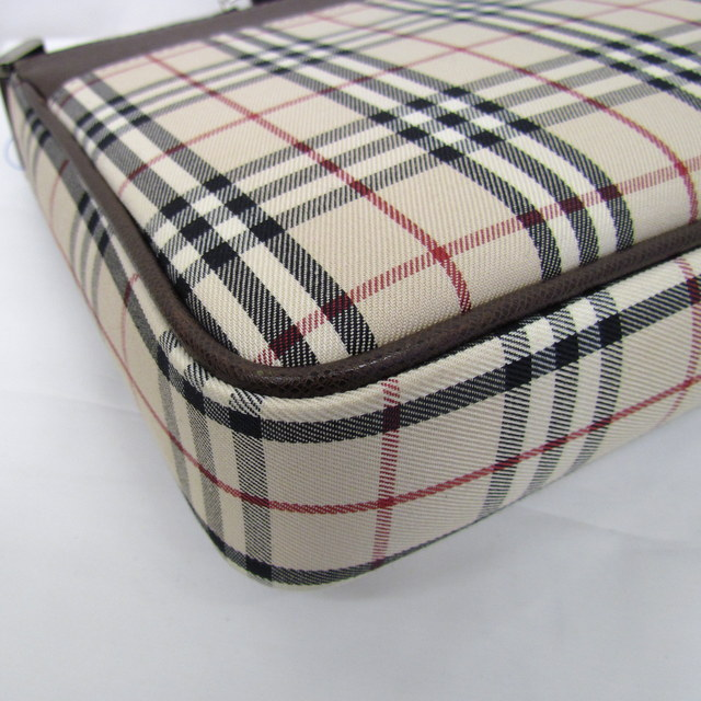 bc597add33a ... Take BURBERRY Burberry shoulder bag slant; sling bag crossbody checked  pattern brown Lady's bag bag ...