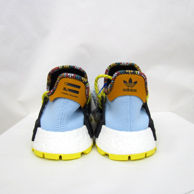 best sneakers 89ad3 c1c72 adidas Originals PHARRELL WILLIAMS Adidas original Farrell Williams PW SOLAR  HU NMD EE7581 solar Hugh nomad 2018 model collaboration restrictions shoes  ...