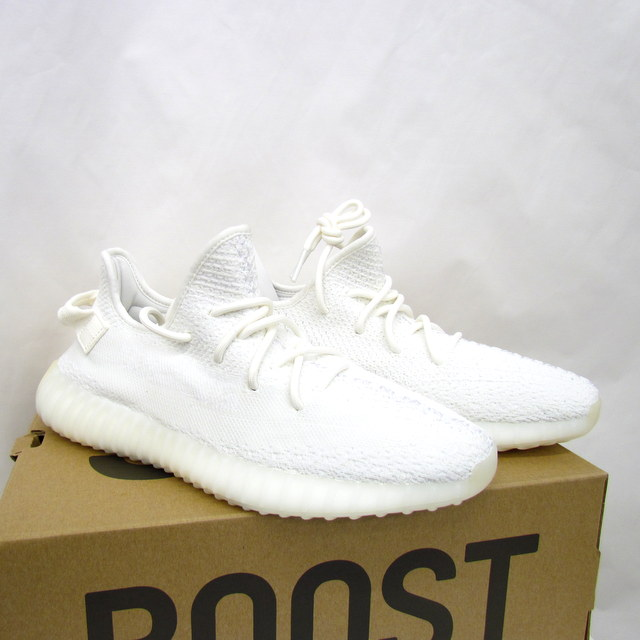 buy popular a84db 36574 adidas Originals Adidas original KANYE WEST YEEZY BOOST 350 V2 easy boost  CP9366 collaboration cream white US9 1/2 27.5cm string shoes low-frequency  ...
