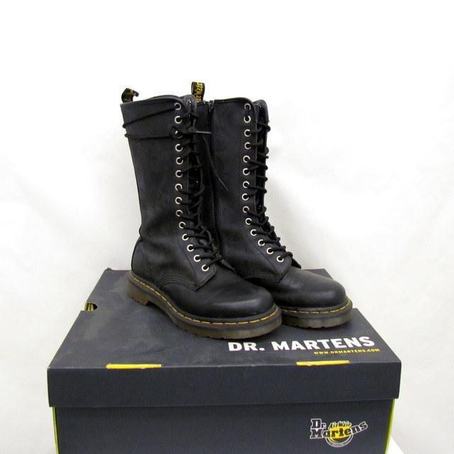 timeless design e415e f1d07 dr martens long boots