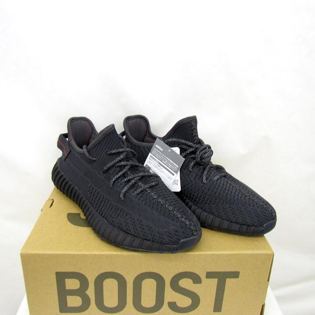 brand new b688b f2a35 T Higashiosaka store with the adidas Adidas sneakers YEEZY BOOST 350 V2  easy boost BLACK black Originals KANYE original Kanie FU9006 26.5cm US81/2  men ...