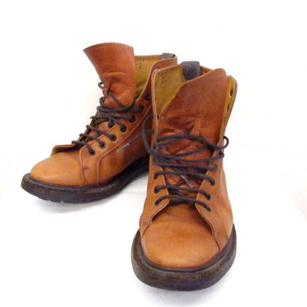 トリッカーズ × ポールスミス ブーツ Trickers × Paul Smith 6077 シューズ メンズ 6 1/2 25cm モンキーブーツ ブラウン レザー 靴 編み上げ 東大阪店【USED】