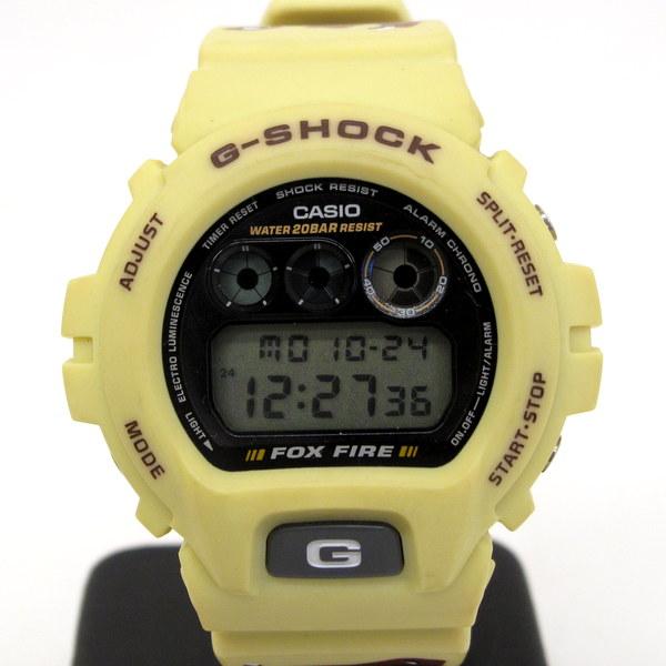 ジーショック カシオ 腕時計 G-SHOCK CASIO DW-6900F-5 ショックレジスト FOX FIRE フォックスファイアー クリームイエロー 砂漠模様 ミリタリー 三つ目 ウォッチ デジタル メンズ 三国ヶ丘店 127872 【中古】