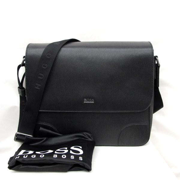 e70bf0cbd34 Higashiosaka store with the HUGO BOSS Hugo Boss shoulder bag messenger bag  50248834 black type push ...