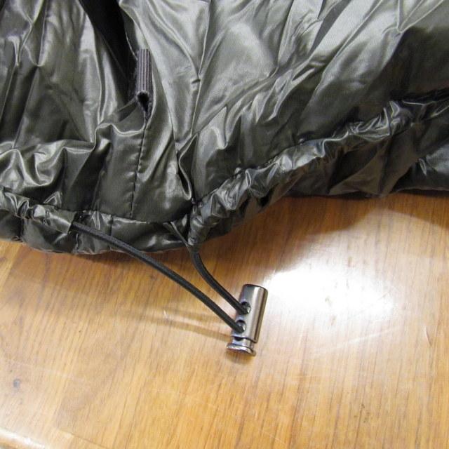TATRAS タトラス ダウンコート サリン LTA 4179 12 ナイロン カーキ フード付き 軽量 ジップアップジャケットjq34L5AR