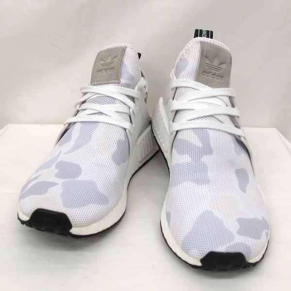 huge selection of e8cf8 bc3f1 Higashiosaka store with the adidas Adidas sneakers camouflage camouflage  white NMD-XR1 BA7233 27cm N M D boost boost shoes men string shoebox